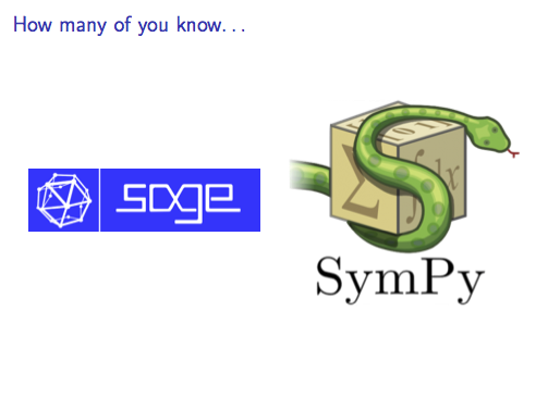 SymPy vs  SageMath: symbolic computation and automatic