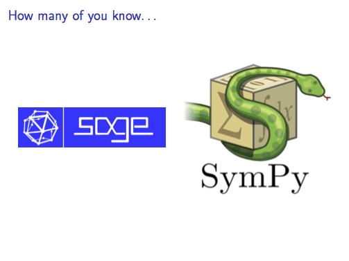 Sympy Vs Sagemath Symbolic Computation And Automatic